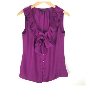 Banana Republic Purple Top Size S